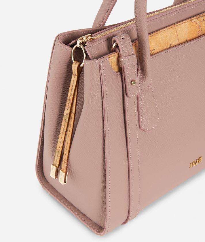 Sky City Medium handbag  Boreal Pink
