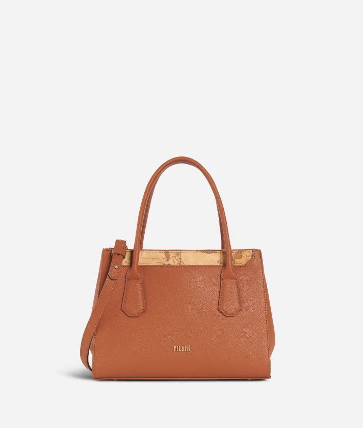 Sky City Small Handbag Walnut
