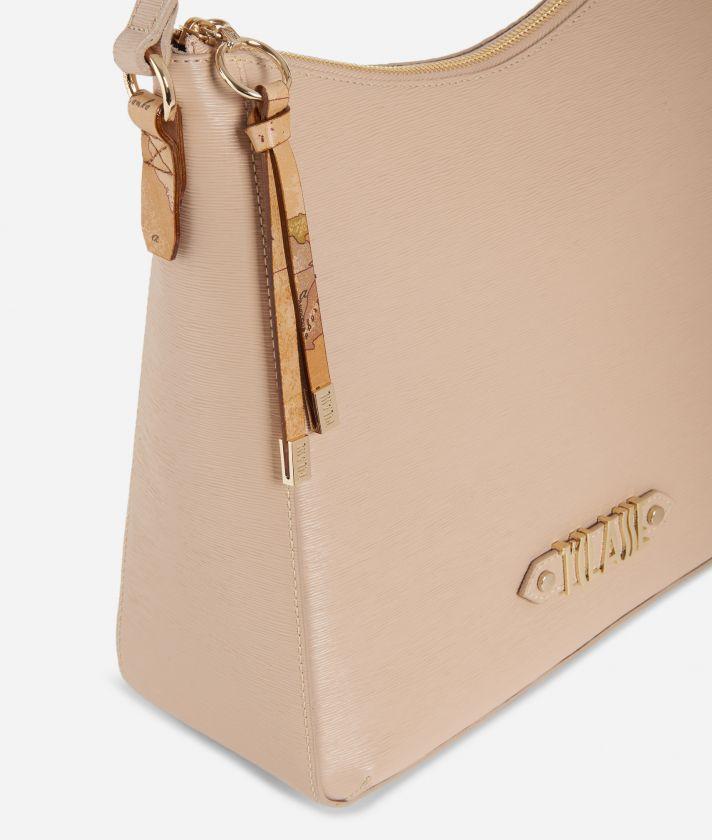 Winter Smile Hobo bag Crema