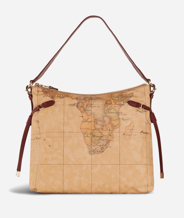 Soft Wood Hobo bag Bordeaux
