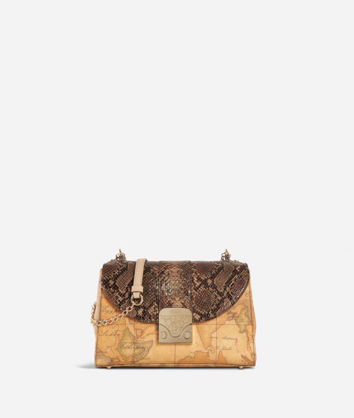 Dream Bag Tracolla Crema e Geo Classic