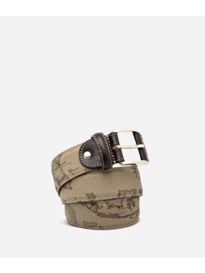 Geo Tortora Cintura con fibbia logata